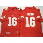 Wisconsin Badgers Red #16 WILSON