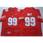 Wisconsin Badgers Red #99 WATT