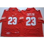 Wisconsin Badgers Red #23 TAYLOR