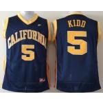 California Golden Bears Kidd #5 blue jersey