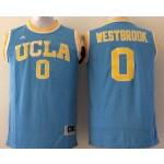 UCLA Bruins Blue #0 Westbrook jersey