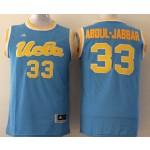 UCLA Bruins Blue #33 Abdul-Jabbar jersey