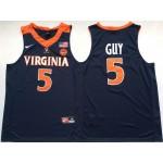 Virginia Cavaliers Blue #5 GUY