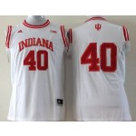 Indiana Hoosiers #40 white jersey