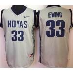 Georgetown Hoyas Ewing #3 gray jersey