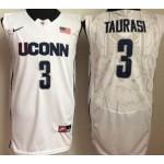 Uconn Huskies White #3 Taurasi jersey