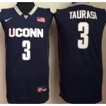 Uconn Huskies blue #3 Taurasi jersey