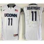 Uconn Huskies white #15 Boatright jersey