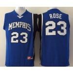 Memphis Tigers Rose #23 blue jersey