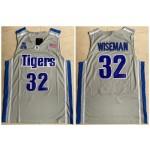 NCAAB Memphis Tigers #32 James Wiseman Gray College Basketball Jersey