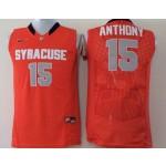 Syracuse Orange Anthony #15 Orange jersey