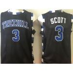 One Tree Hill Ravens black #3 Scott jersey