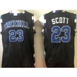 One Tree Hill Ravens black #23 Scott jersey