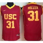 USC Trojans Red #31 Miller jersey
