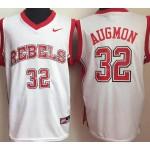 University of Nevada Las Vegas White #32 Augmon jersey
