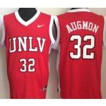 University of Nevada Las Vegas Red #32 Augmon jersey