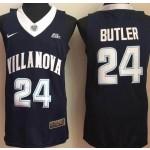 Villanova Wildcats blue #24 Butler jersey