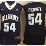 Villanova Wildcats blue #54 Pickney jersey