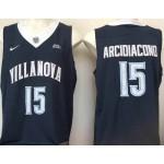 Villanova Wildcats blue #15 Arcidiacono jersey