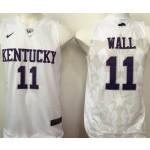Kentucky Wildcats white #11 Wall jersey