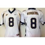 California Golden Bears White #8 Rodgers jersey