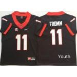 Youth Georgia Bulldogs Black #11 FROMM