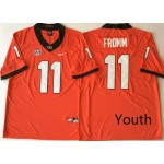 Youth Georgia Bulldogs Red #11 FROMM