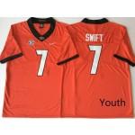 Youth Georgia Bulldogs Red #7 SWIFT