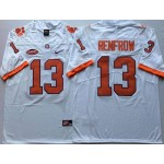 Clemson Tigers White #13 RENFROW