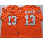 Clemson Tigers Orange #13 RENFROW