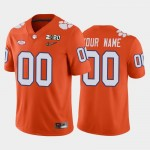 Men's Clemson Tigers Custom Orange 2020 National Championship Game Jersey(Name and number remark in comment column)