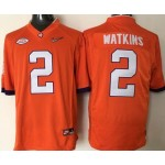 Youth Clemson Tigers Watkins #2 orange jersey