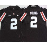 Ohio State Buckeyes #2 Chase Young Black Limited Stitched College Jersey