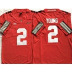 Ohio State Buckeyes #2 Chase Young Red 2018 Spring Game College Football Limited Jersey