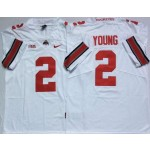 Ohio State Buckeyes #2 Chase Young White College Football Jersey