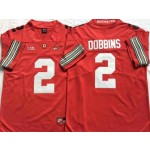 Ohio State Buckeyes #2 J.K. Dobbins Red 2018 Spring Game College Football Limited Jersey