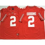 Ohio State Buckeyes #2 J.K. Dobbins Red College Football Jersey