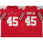 Ohio State Buckeyes #45 Archie Griffin Red Nike College Football Jersey