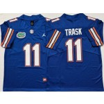 Florida Gators #11 Kyle Trask Blue College Football Jersey