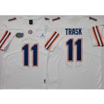 Florida Gators #11 Kyle Trask White College Football Jersey