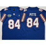 Florida Gators #84 Kyle Pitts Blue College Football Jersey