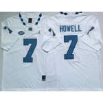 North Carolina Tar Heels #7 Sam Howell Blue College Football Jersey