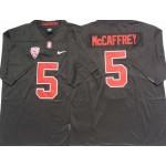 Stanford Cardinals #5 Christian McCaffrey Black College Football Jersey