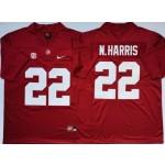 Alabama Crimson Tide #22 Najee Harris Red Nike College Football Jersey