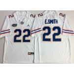 Jordan Florida Gators White #22 E.SMITH