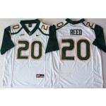 Miami Hurricanes White #20 REED