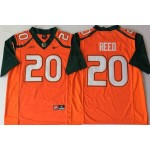 Miami Hurricanes Orange #20 REED