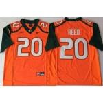 Miami Hurricanes Orange #20 REED