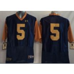 Norte Dame Fighting Irish blue #5 jersey