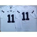 Penn State Nittany Lions White #11 jersey